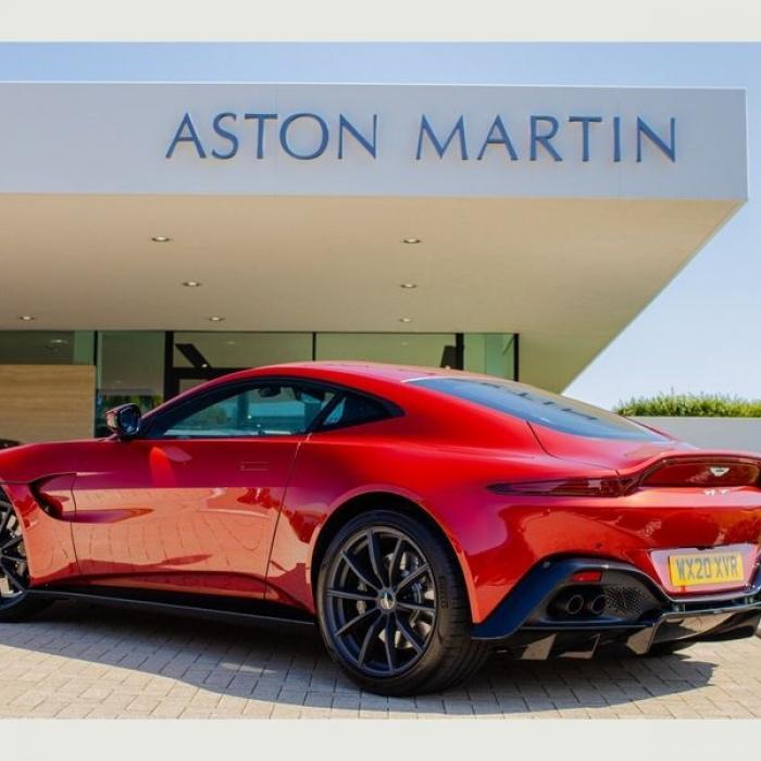 Aston Martin Vantage Coupe 4.0 2dr 2