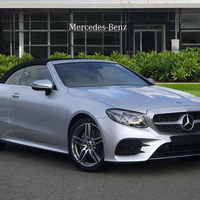 Mercedes-Benz E 220D AMG LINE Cabriolet Premium Package 85eaea9001e545238a613b3a06fe73ee