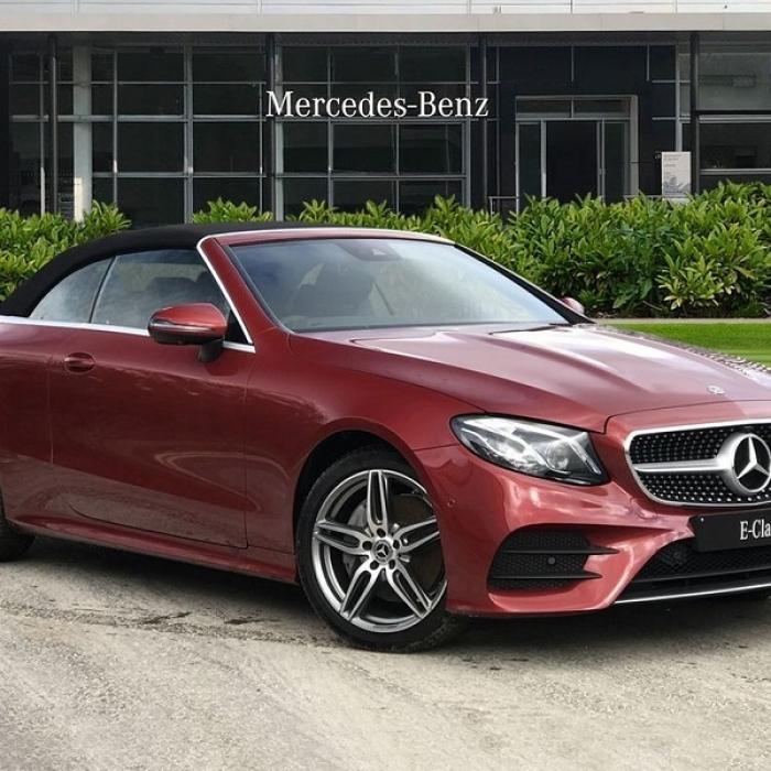 Mercedes-Benz E 220d 4MATIC AMG Line Cabriolet Premium Pack 6a1c1b94290a4814a848e49f0ad9f6d0